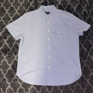 Abercrombie & Fitch mens short sleeve oxford shirt